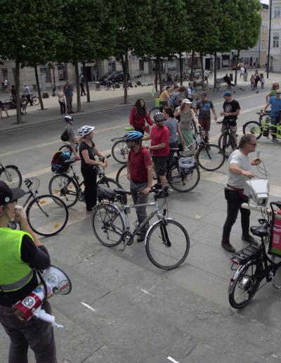 verkehrswende aktionstag radl demo critical mass