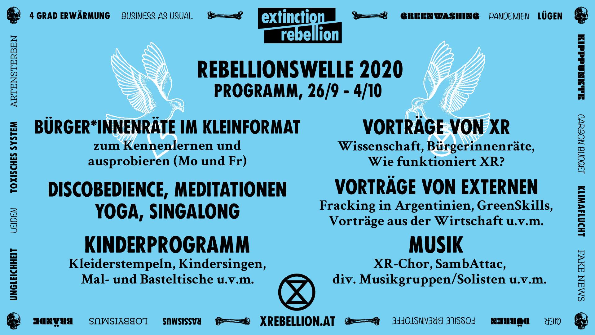 Rebellionswelle Programm