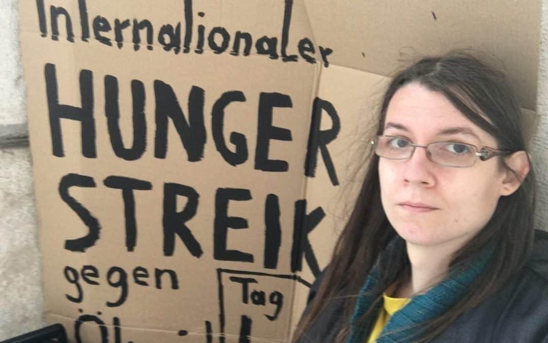 Gegen den Ökozid! – Statement von Martha zu ihrem Hungerstreik am Heldenplatz