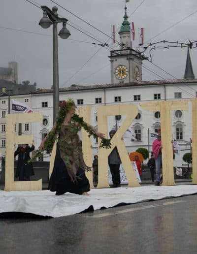 Mother Earth - Extinction Rebellion Salzburg 2