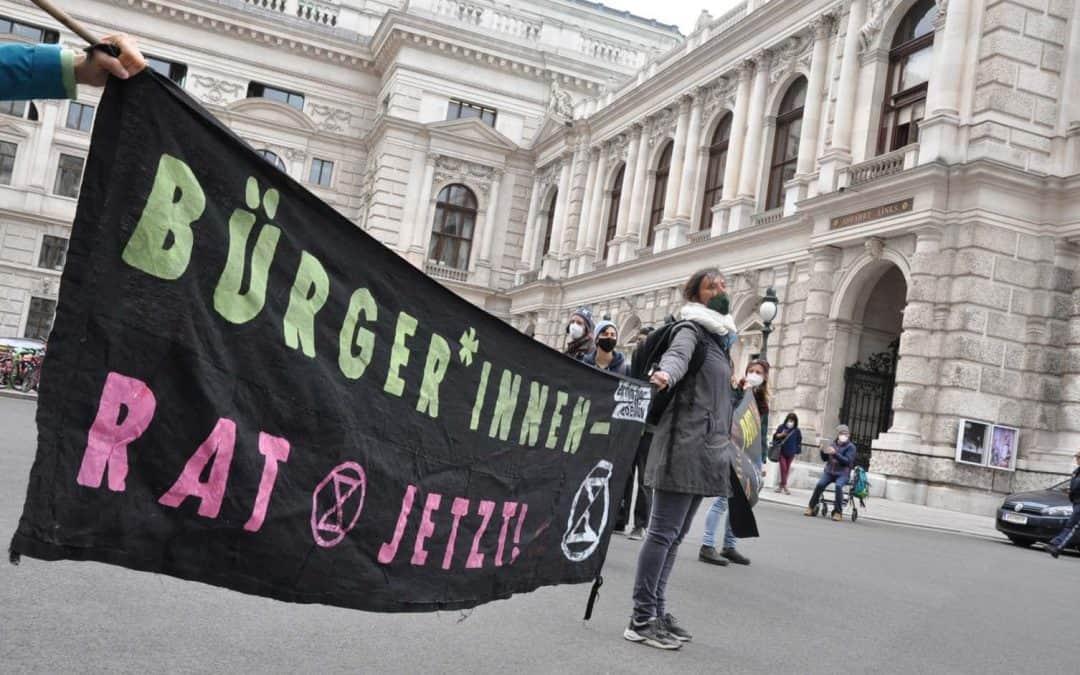 """Extinction Rebellion Austria zur """"ökosozialen Steuerreform"""""""
